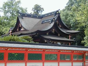 神社建築:本殿様式・香椎造